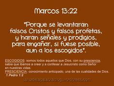 Marcos 13:22