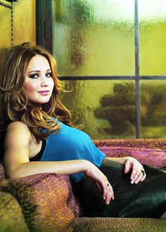 Absolutely love Jennifer Lawrence! She's so real!!