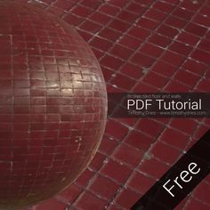 Free PDF Tutorial - Making old tiles in Substance Designer