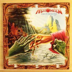 HELLOWEEN - Keeper of the seven Keys - Part II - mint minus - Vinyl LP - OIS FOC