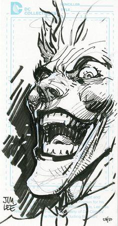 The Joker by Jim Lee * - Art Vault