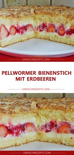 Pellwormer bee sting with strawberries - Kuchen - Ensaladas Sugar Cookie Recipe Easy, Easy Peanut Butter Cookies, Cake Mix Cookie Recipes, Easy Chocolate Chip Cookies, Chocolate Cookie Recipes, Butter Cookies Recipe, Cake Recipes, Food Cakes, Yummy Cakes