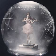 """sneak peak at the NEW Album cover for Lindsay Stirling """"Shatter Me"""" How cool is this?"""