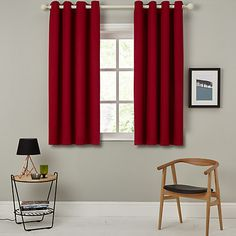 Buy John Lewis Barathea Lined Eyelet Curtains Online at johnlewis.com
