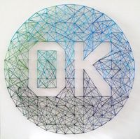 How to Create a Stunning Ombre String Art Word