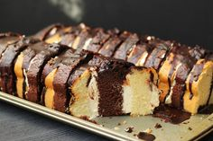 Polish Recipes, Food Cakes, Cake Recipes, Recipies, Deserts, Food And Drink, Yummy Food, Sheet Cakes, Food And Drinks
