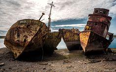Tres barcazas - Three barges © BARBIANI Andres Leonardo. Follow me in-Sígueme…
