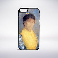 Odilon Redon - Woman With A Yellow Bodice Phone Case – Muse Phone Cases