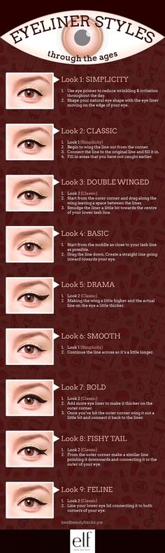 Incredible Eyeliner through the Ages | Simple Eyeliner Tutorials for Perfect Eyeliner Looks by Makeup Tutorials at makeuptutorials.c… #slimmingbodyshapers   To create the perfect overall style with wonderful supporting plus size lingerie come see   slimmingbodyshape…  The pos ..