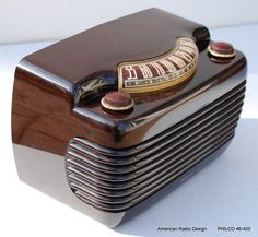1946 Philco antique tube radio - wow!