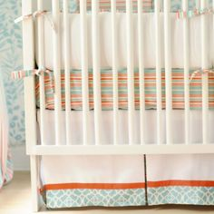 New Arrivals Crib Bedding Set - Scout - Plus FREE Monogram