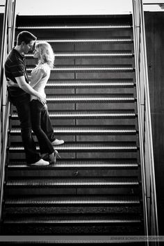 love the pose on the stairs