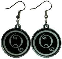 Curly Letter Q Dangle Earrings EP Laser http://www.amazon.com/dp/B00B7DC5R0/ref=cm_sw_r_pi_dp_YqJbwb03Y45DB