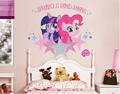 My little Pony - Sparkle und Shine My Little Pony Sparkle, My Little Pony Bedroom, My Little Pony Equestria, Unicorn Rooms, Little Poney, Princess Room, Toddler Rooms, Daughters Room, Little Girl Rooms