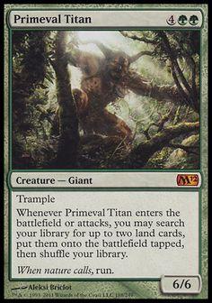 Primeval Titan (Magic 2012)
