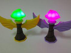3D Printed LED Wards League of Legends por PrintedInnovations