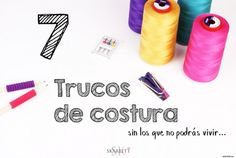 Trucos-de-costura-nuevos Sewing Hacks, Sewing Tutorials, Sewing Projects, Janome, Fashion Design World, Costura Diy, Learn To Sew, Sewing Techniques, Diy Clothes