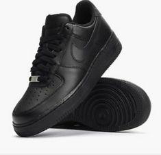pretty nice 01fee ef25e Nike Air Force 1 All Black Brand New Size 5  fashion  clothing  shoes
