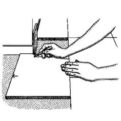 Want to save time and improve your accuracy when tiling? We show you how the pros use the tile itself as a marking guide. | Illustration by: Harry Bates | thisoldhouse.com