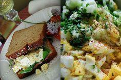 Caesar and Caper Kissed Egg Salad recipe on Food52