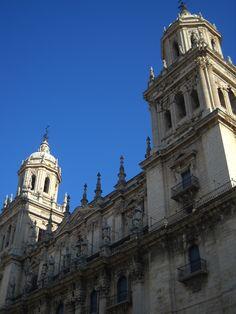 Jaen Catedral. Fachada de Eufrasio López de Rojas