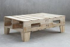table basse de salon en palettes