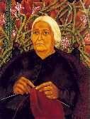 Portrait of Dona Rosita Morillo  1944  Oil on canvas, mounted on masonite  30 x 23 7/8 in. (76 x 60.5 cm)