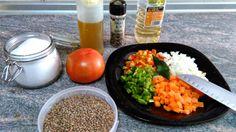 Cocinando a la Familia: Ensalada Templada de Lentejas y hortalizas