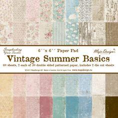 Paper pads: Vintage Summer Basics