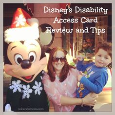 Disneyland: The Disability Access Card with a Child with Autism