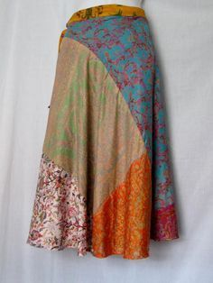 sew patchwork skirt - Google Search
