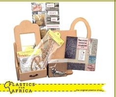 Make your own, unique presents for the women in your life with our mosaic and decoupage accessories. Available from your nearest #PlasticsforAfrica store. #gifts #WomensDay