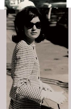Jackie Kennedy. One of my fashion icons and role models. So much elegance and class