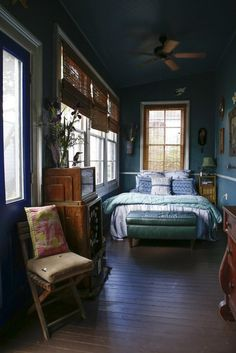 #Cabin Interriors & Decor ... #log #cabins #bedroom — House Tour | Apartment Therapy