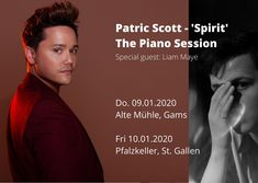 Scott 'Spirit' Piano sessions in St. Gallen & Gams New songs from the album 'Spirit' in an intimate piano session, to enjoy with a friend and recharge your soul!New songs from the album 'Spirit' in an intimate piano session, to enjoy with . Pop Rocks, Ronald Mcdonald House, Quincy Jones, Spirit Soul, Mind Body Soul, Soul Music, Piano Music, Special Guest, News Songs