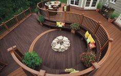 amazing patio decking & layout