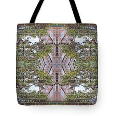 City Park 2 Tote Bag  http://fineartamerica.com/products/city-park-2-sarah-loft-tote-bag-1..  #totebags #sarahloft #digitalart #digital #abstract
