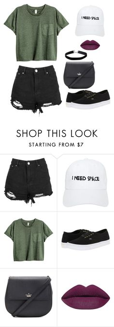 """Outfit Choice"" by jjlexi on Polyvore featuring Boohoo, Nasaseasons, Vans, Kate Spade and Miss Selfridge"