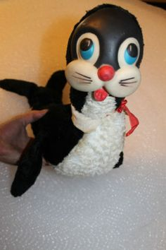"""vintage Rushton Star Creation - Seal 1950's rubber face Rare about 17 """" A5"""