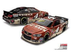 One of the paint schemes that Kevin Harvick will run in the 2014 Nascar Sprint Cup Season