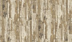 Driftwood (1987/166) - Prestigious Wallpapers - A detailed, faded wood panelling design with a hand painted effect. Shown here in various shades of satinwood and sand. Other colourways are available. Please request a sample for a true colour match. Pattern repeat is 61cm. Paste-the-wall product.