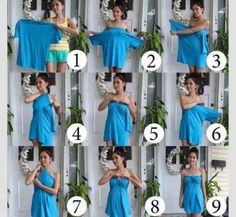 How To Make a Beautiful Dress From Simple Blouse