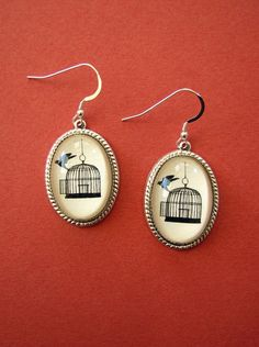 Back Where You Belong Earrings by tinatarnoff on Etsy, $45.00