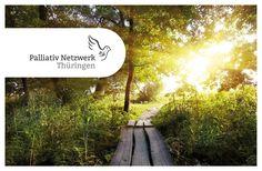 Flyer, Visitenkarten, Briefpapier, Fensterbeschriftung – Palliativ Netzwerk Thüringen @ agentur-setzepfandt&partner