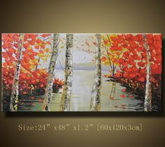 Original Abstract Painting Modern Textured Painting by xiangwuchen, $268.00