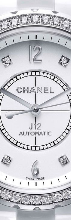 chanel watch tried this on in Paris omg beautiful!