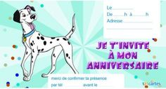 Invitation anniversaire Nemo - 123 cartes