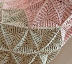 semklitas stitch blanket for my Pull Crochet, Form Crochet, Diy Crochet, Crochet Baby, Crochet Square Blanket, Crochet Square Patterns, Crochet Blanket Patterns, Magia Do Crochet, Crochet Coaster Pattern