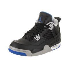 save off 47b67 b8736 Nike Jordan Kids Air Jordan 4 Retro BG Basketball Shoe