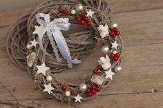 Adventskranz - Weihnachten Türkranz - ein Designerstück von evadeco bei DaWanda